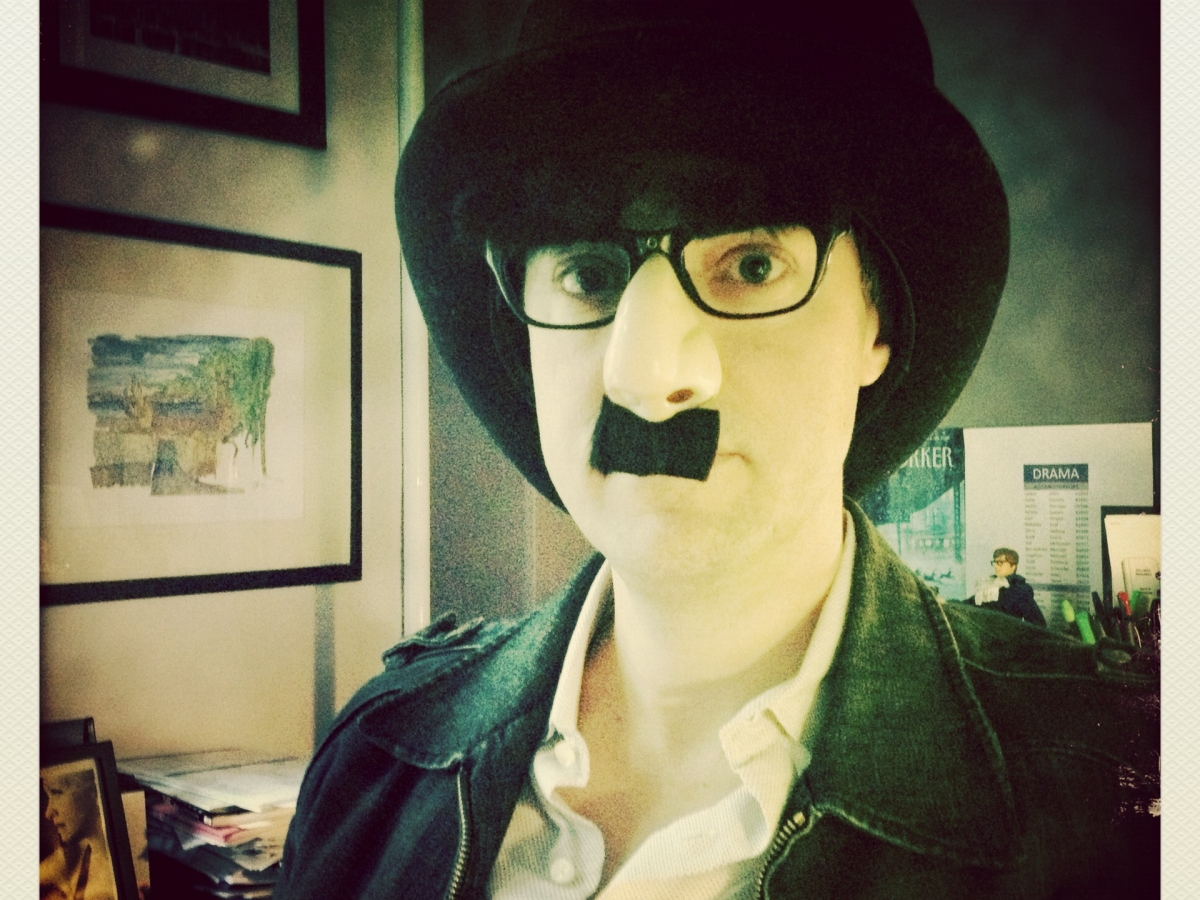 Chris Andersson in Groucho Marx Mask