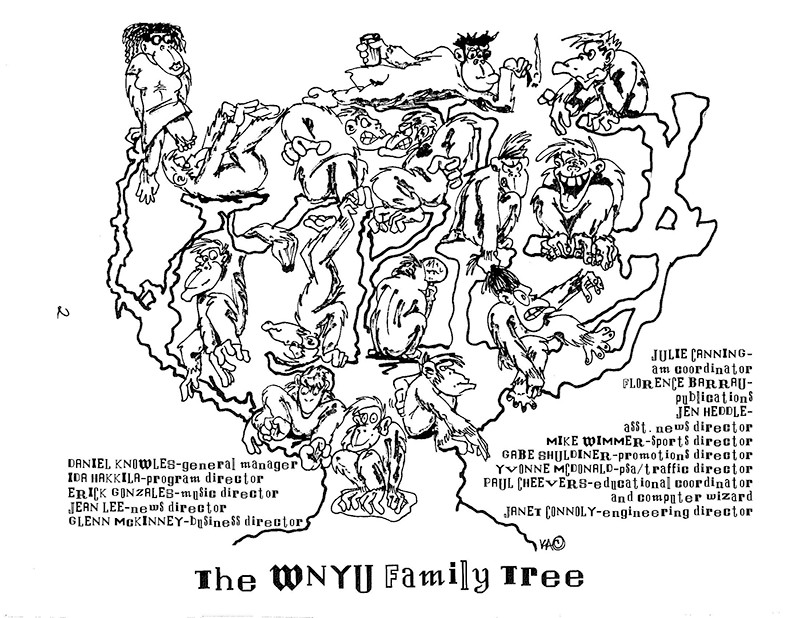 The WNYU Family Tree