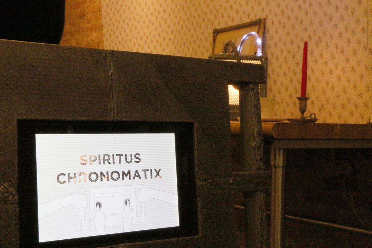 Spiritus Chromomatix: Ghost Game