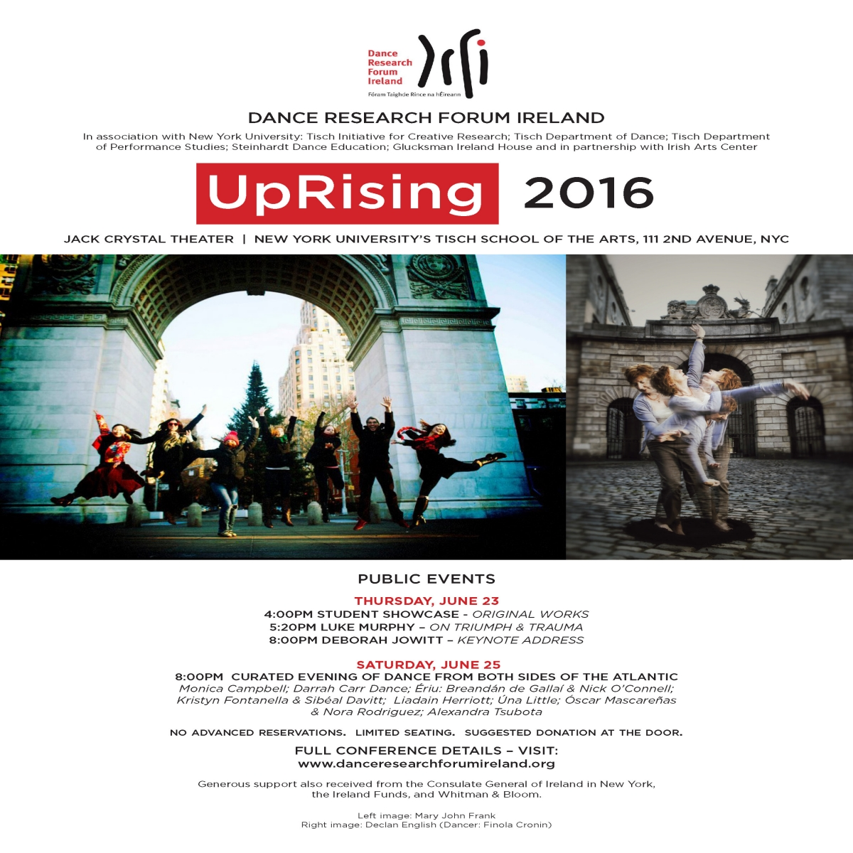 Dance Research Forum Ireland Conference 2016