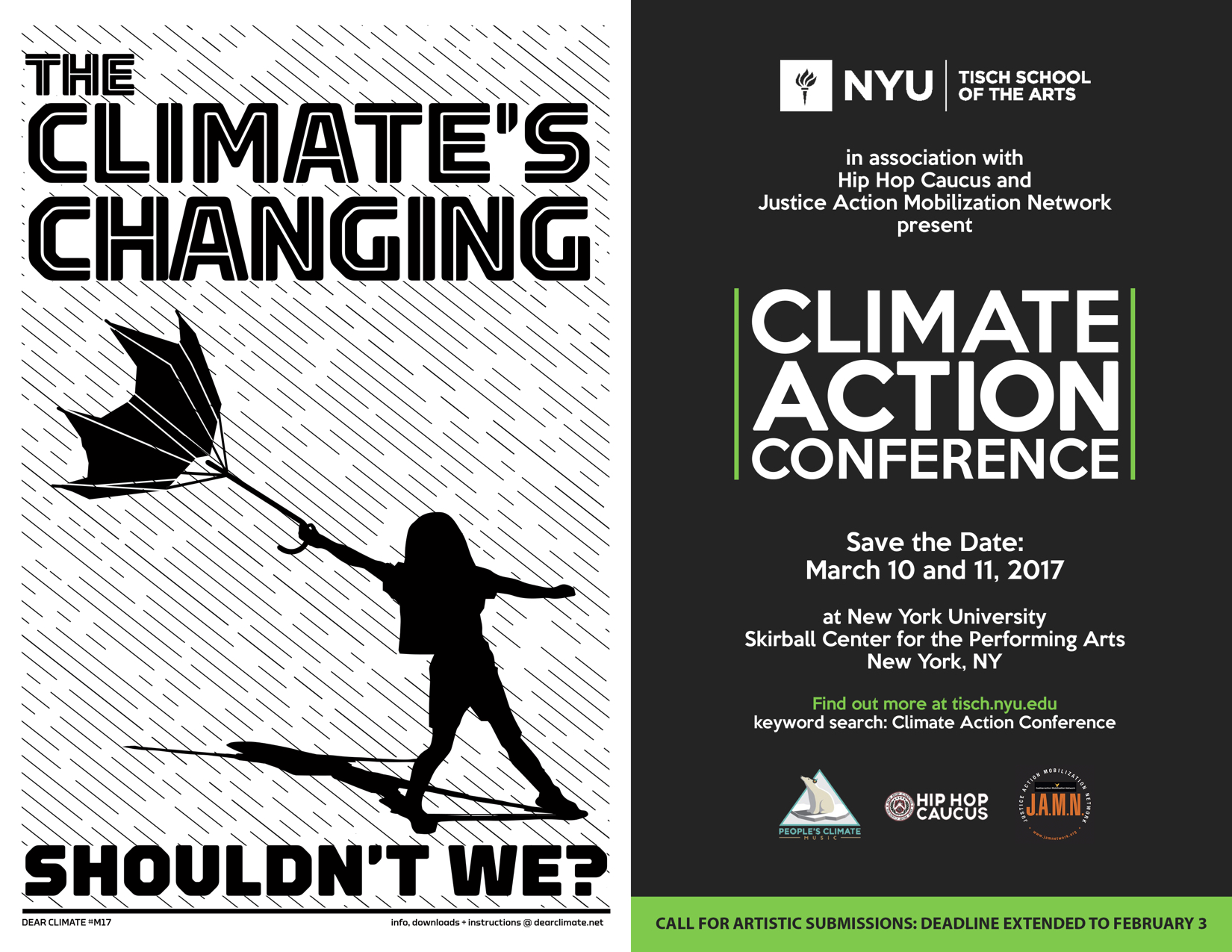 Climate Action Conference 2017 Flier