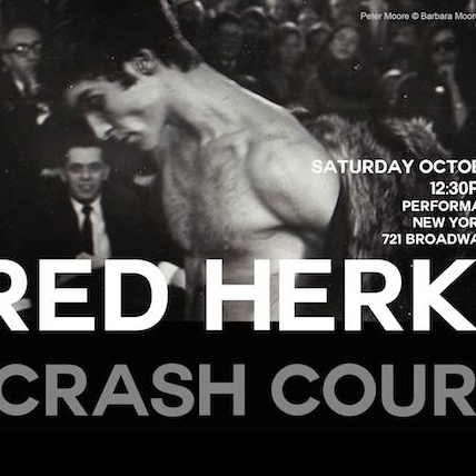 Poster for Fred Herko: A Crash Course