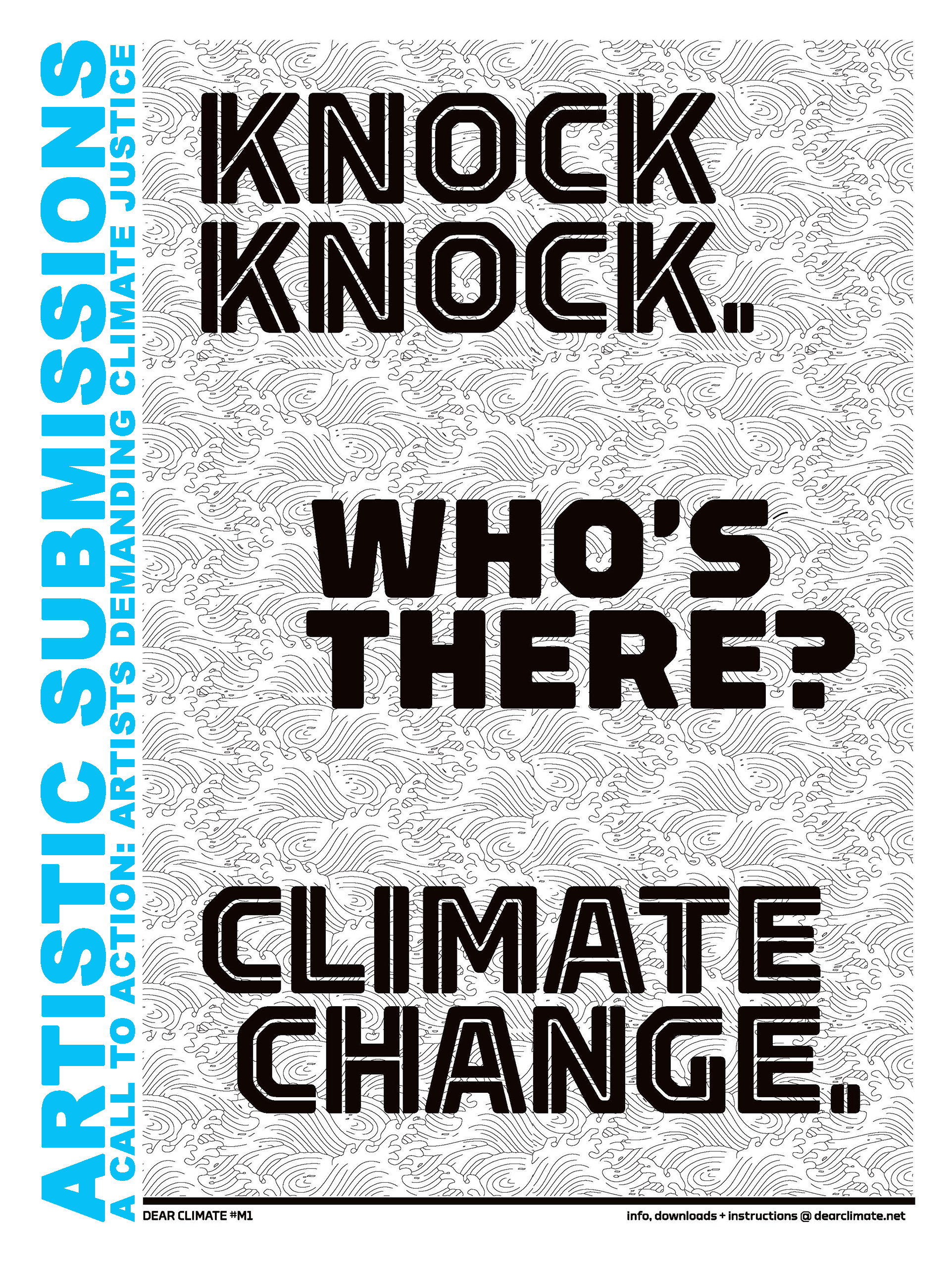 CALL FOR SUBMISSIONS: Artists Demanding Climate Justice
