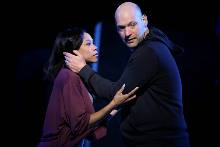 Corey Stoll as Brutus in Shakespeare in the Park's Julius Caesar