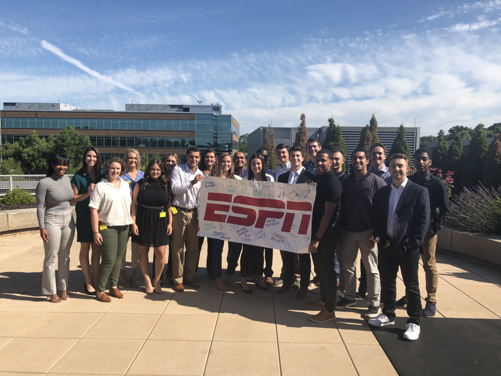 First Class of production assistants for ESPN Next