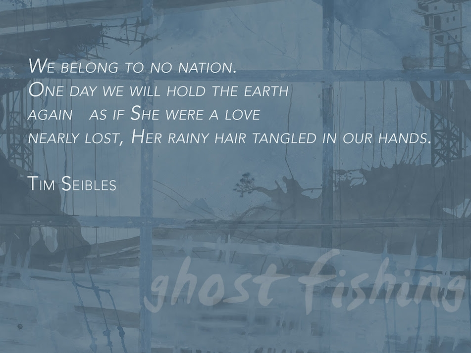 Ghost Fishing: An Eco Justice Anthology Public Exhibition at Kimmel Window Galleries