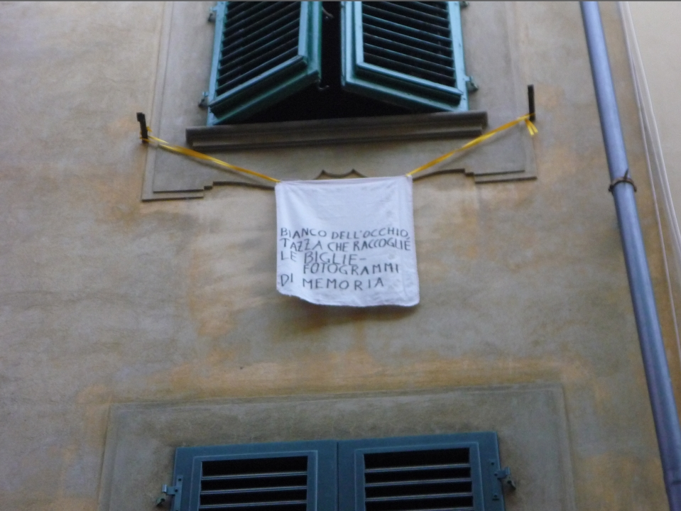 Federe: poesie su tessuto | Pillow Cases: Poetry on Fabric, Florence 2009