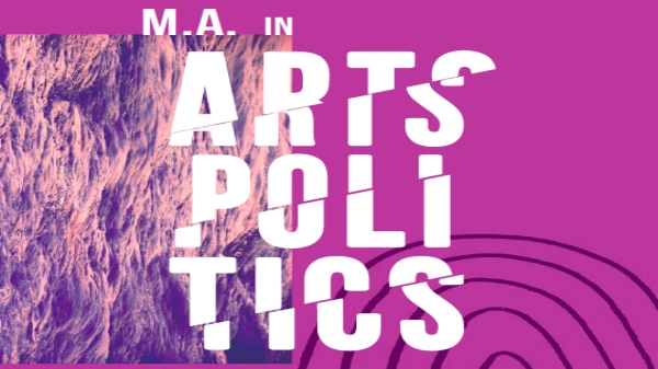 M.A. in Arts Politics