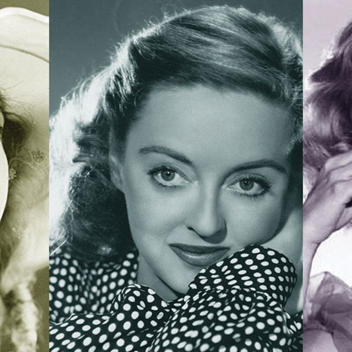 Still photos of Lillian Gish, Bette Davis, Kim Stanley