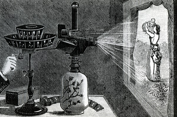 The Magic Lantern A History And Demonstration
