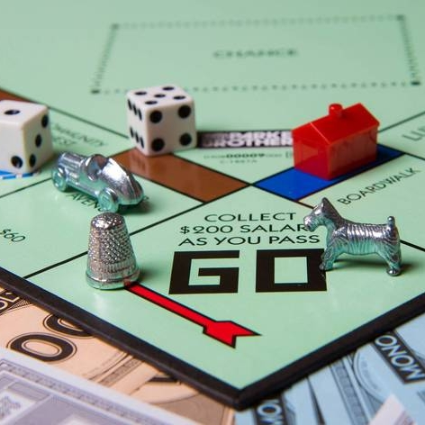 image of the board game Monopoly.