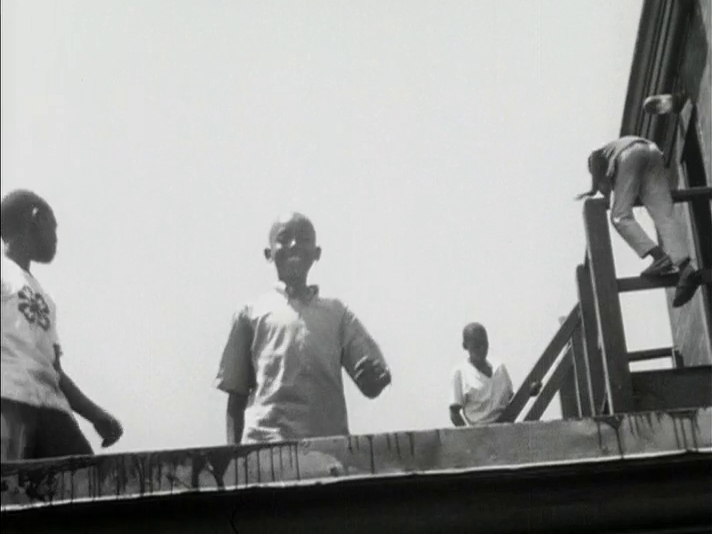 Screen Shot from Not Much to Do (Barry Griffin, James Lucas, Duckey Mapp, Ronnie Mapp, Michael Watters, Howard White, 1966)