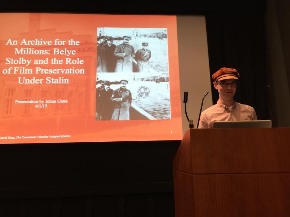 Ethan Gates - An Archive for the Millions: Belye Stolby and the Role of Film Preservation Under Stalin