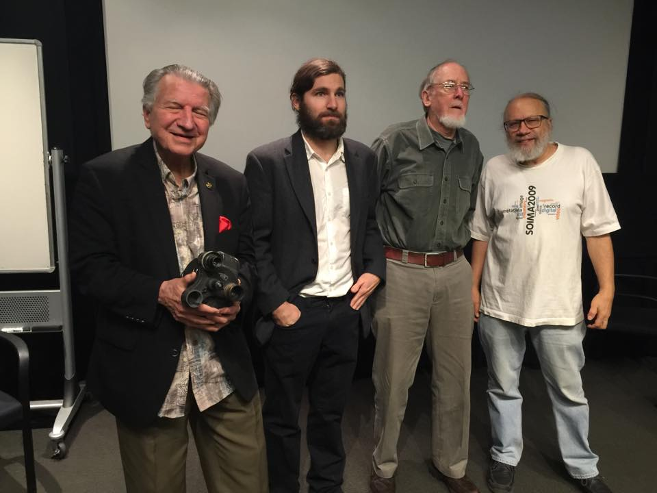 Blake McDowell, Van Dyck Bucher, Sam Bryan, and Howard Besser