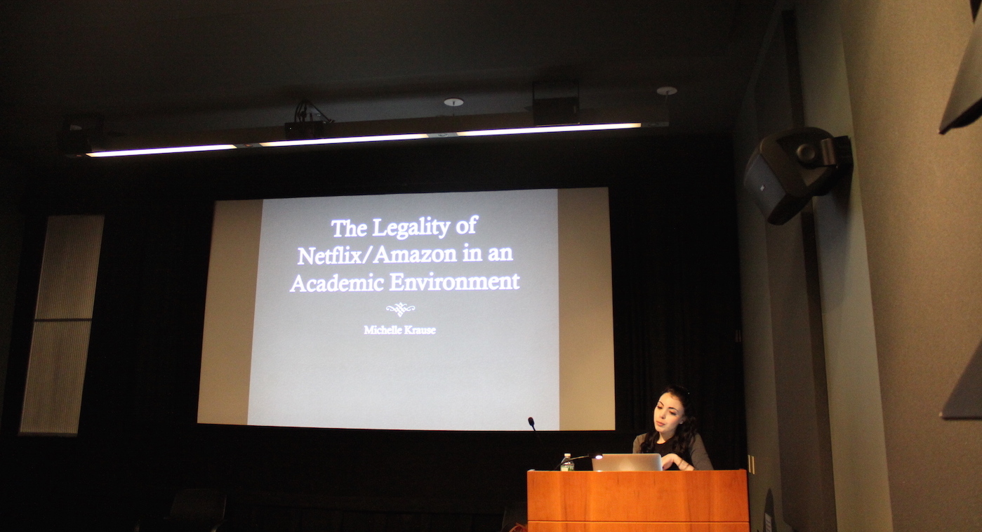 Michelle Krause - Why Academic Libraries Hate Netflix: Digital Copyright and the Challenge of Acquiring and Providing On-Demand Streaming Media for Classroom Use