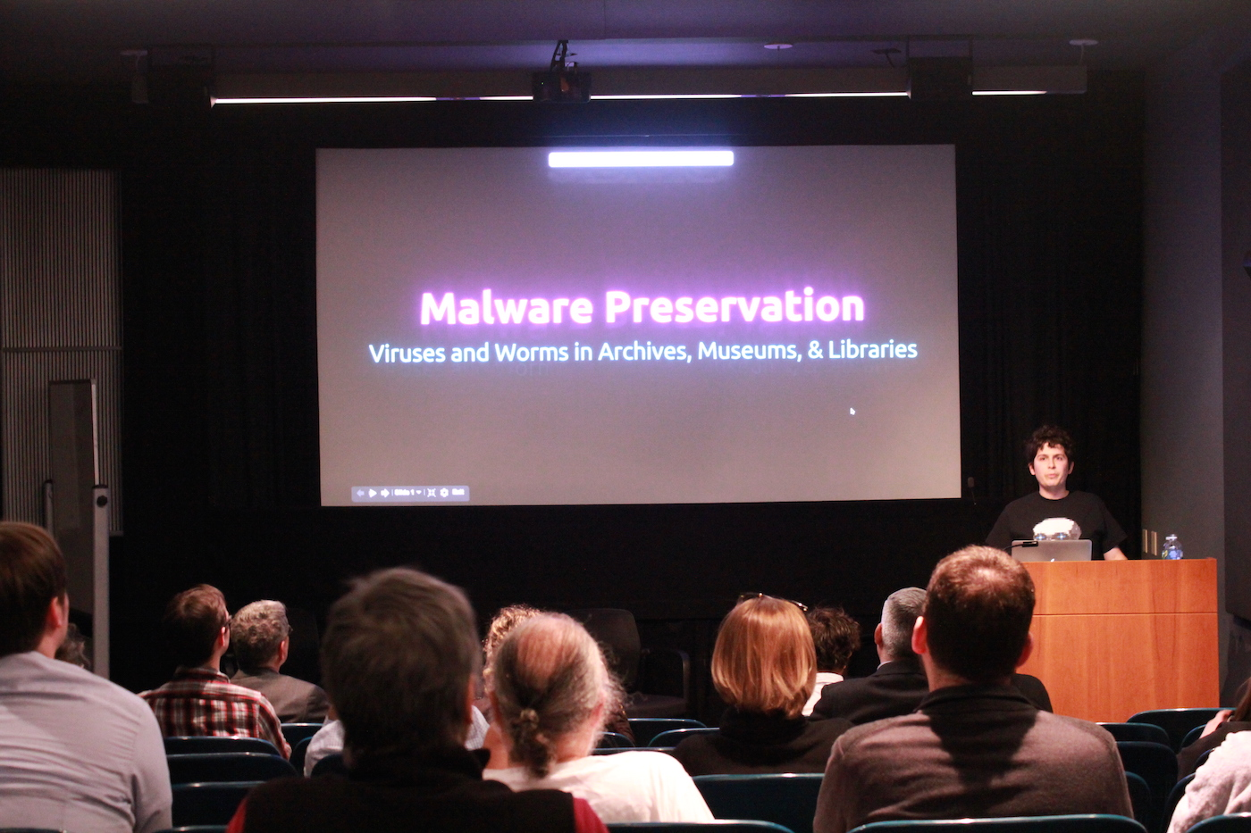 Jonathan Farbowitz - Preserving Malware in Archives, Museums, and Libraries