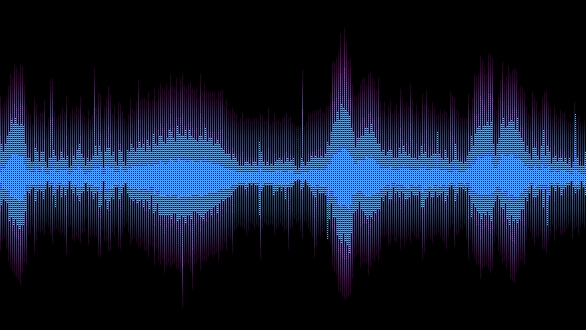 A sound wave analysis captured at the National Museum, Prague, during digitization of an analog recording of Antonín Dvořák's opera, Rusalka.