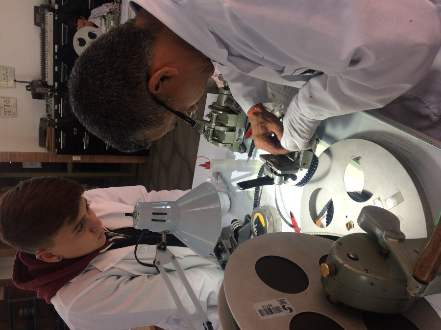 Danielle Calle interned at Fundación Patrimonio Fílmico Colombiano & RTVC's Señal Memoria in Summer 2018.