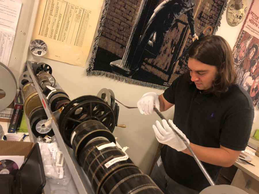 Miles Levy interned at the National Audio-Visual Conservation Center (NAVCC), Library of Congress, in Summer 2018.