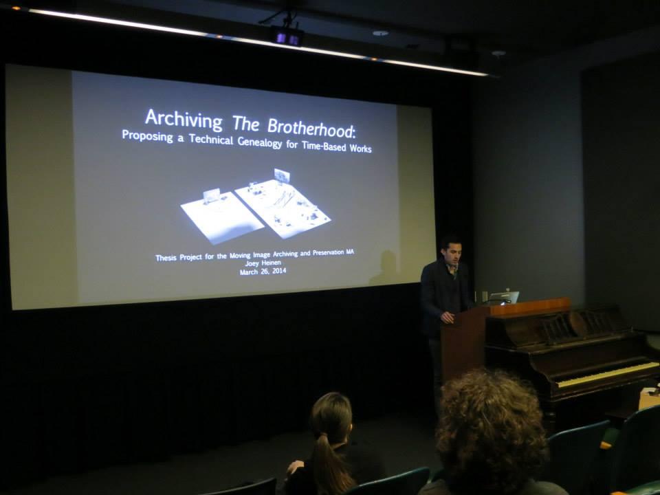 Thesis seminar presentation
