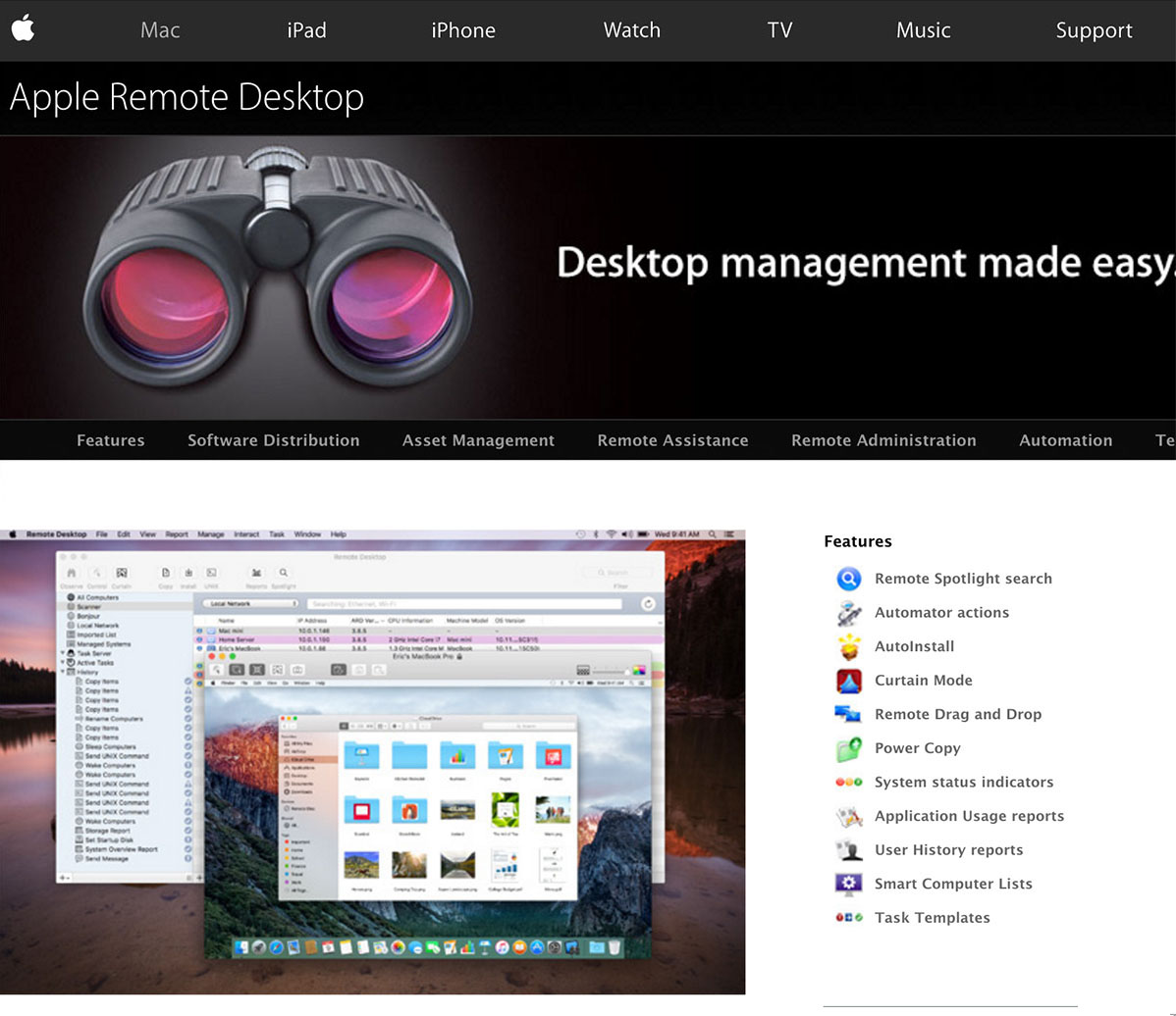Remote from Mac to Mac