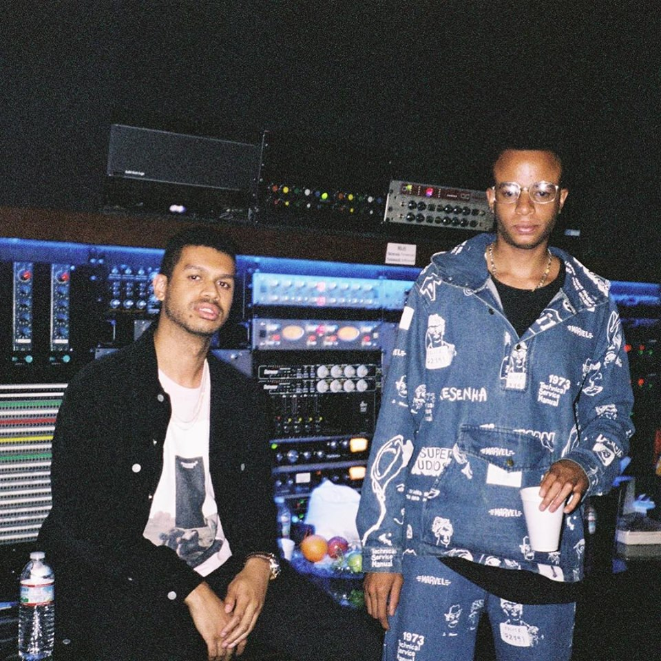 producer duo Take A Daytrip in the studio
