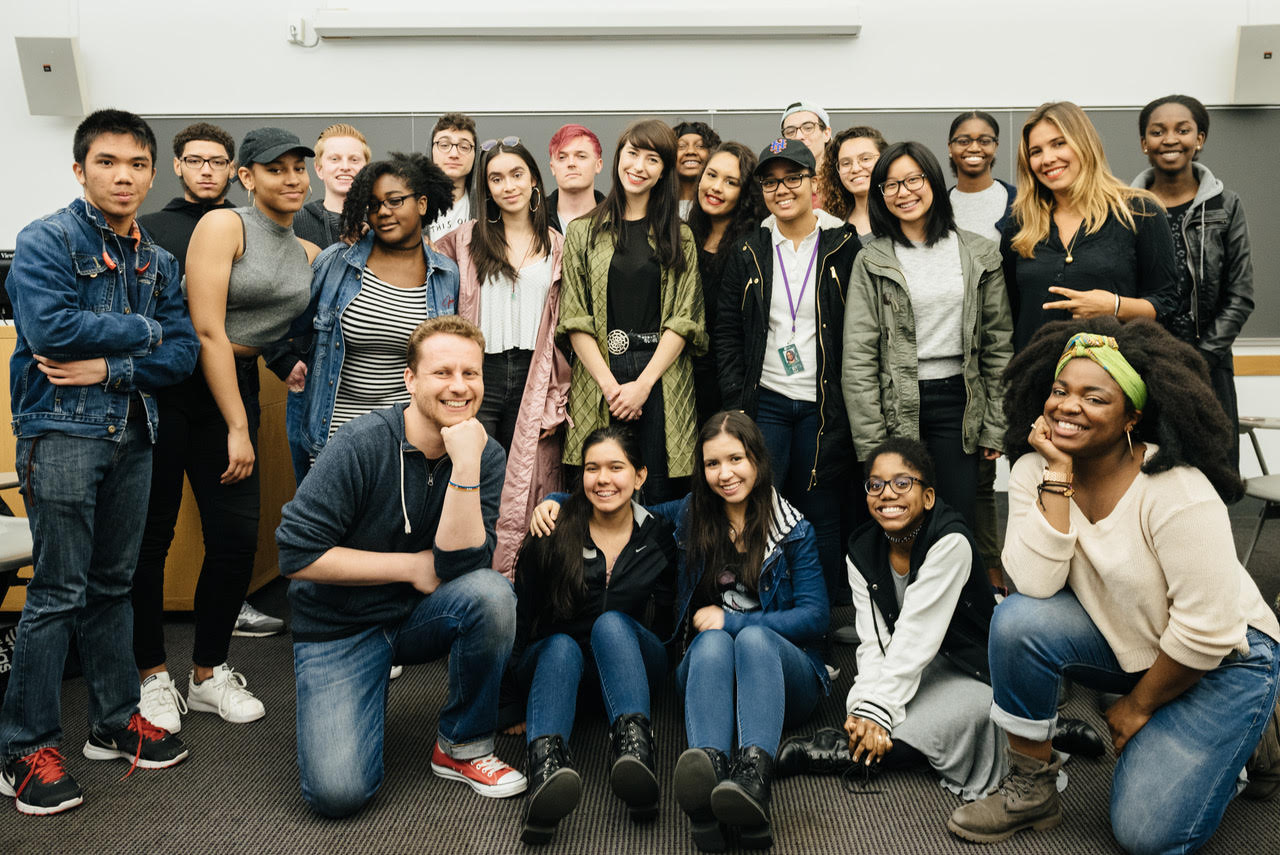 Kimbra, Daveed Diggs, and Bibi Bourelly visit Future Music Moguls Workshop!