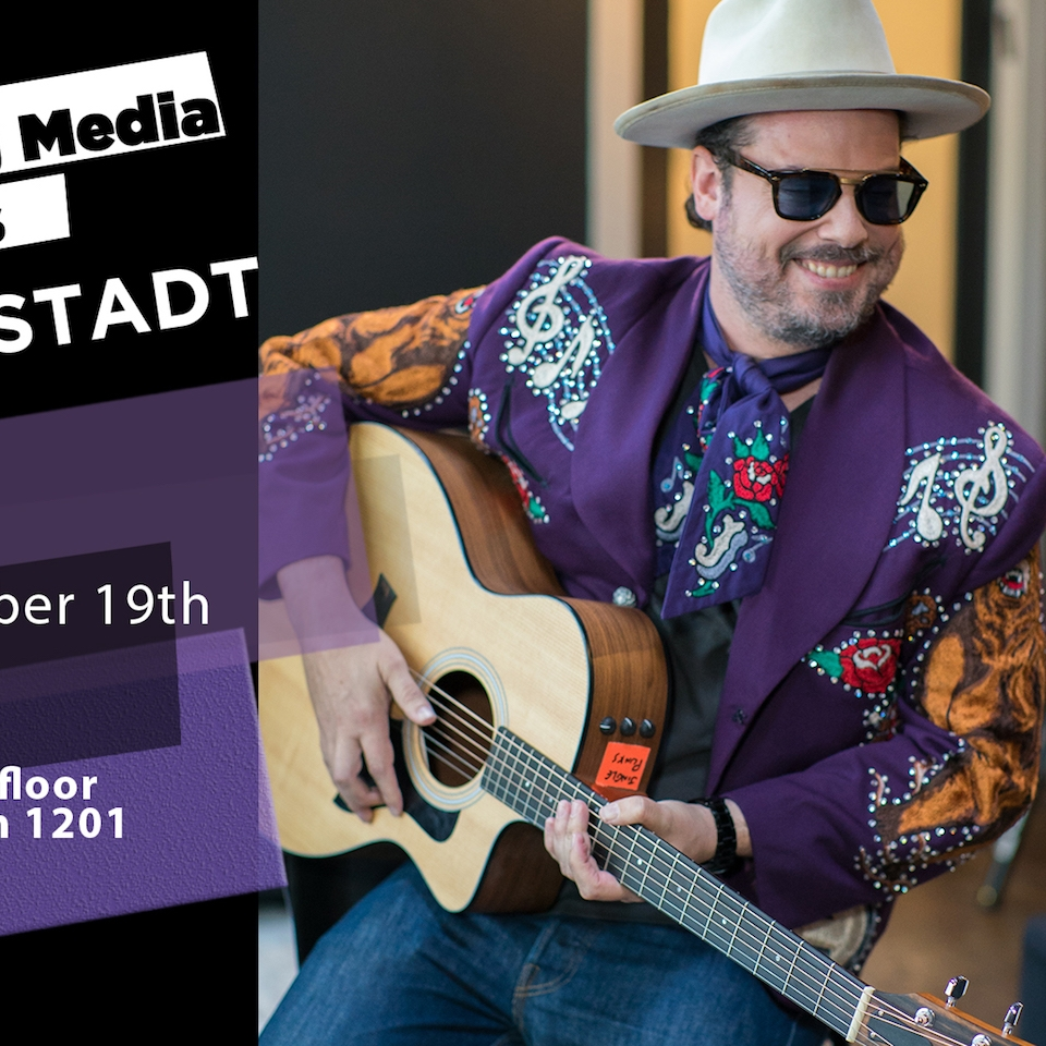 flyer for Jared Gutstadt masterclass at NYU