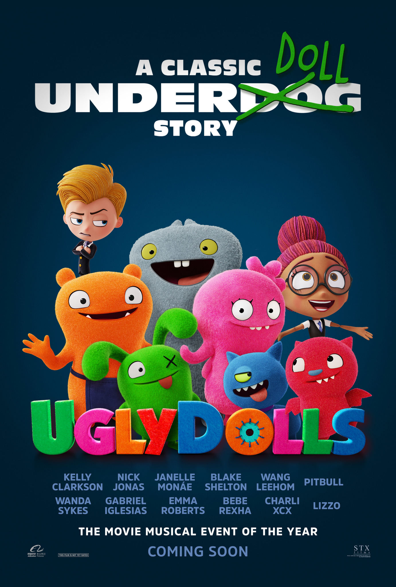 The Ugly Doll Movie Poster