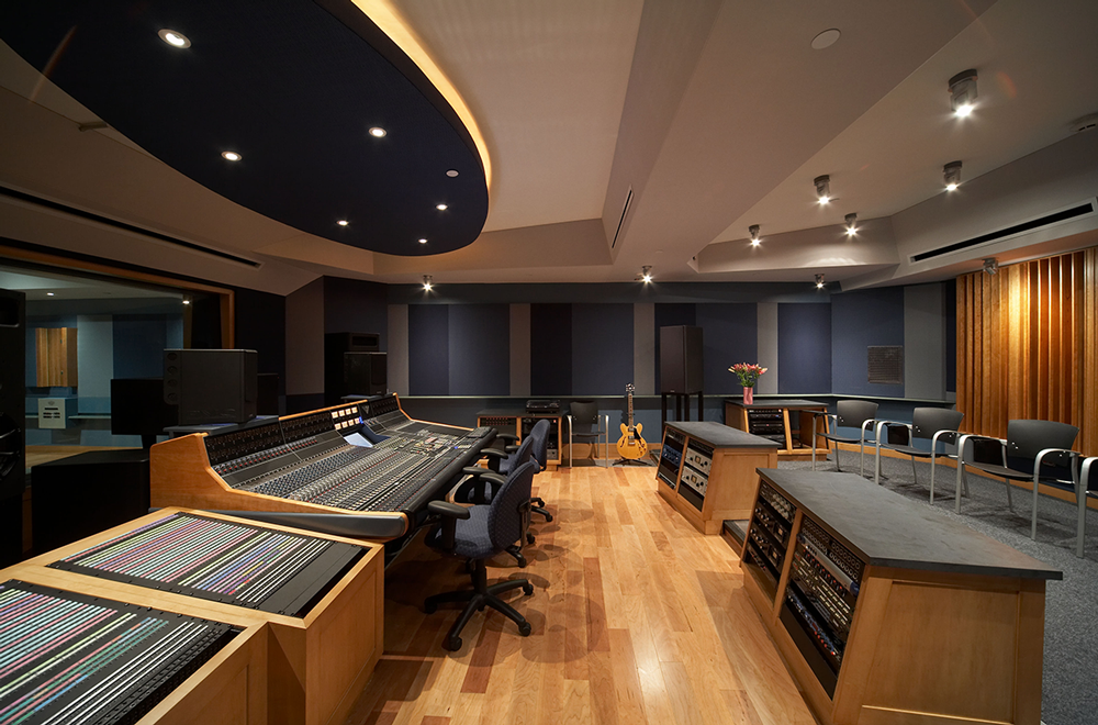 Dennis Riese Family Studio 510 - Control Room