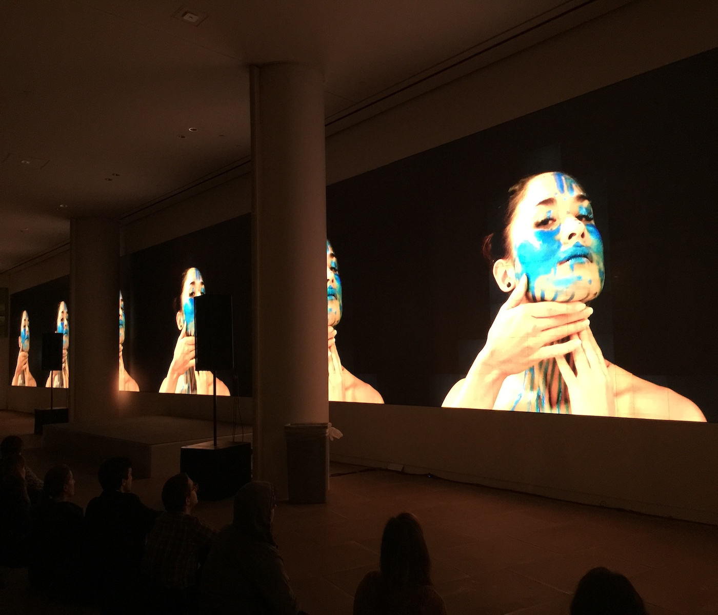 Tisch Dance and ITP Big Screens Collaboration