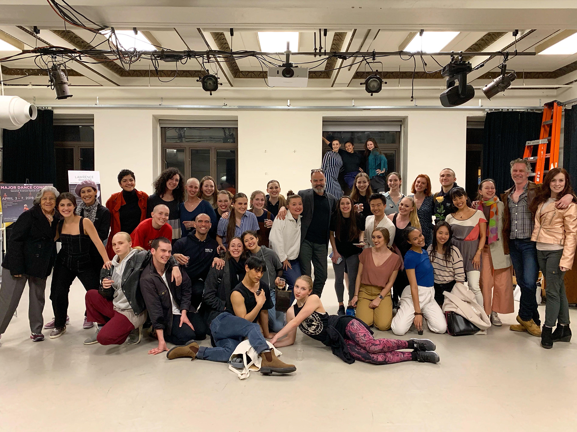 SADC 2019 alongside Alumni of NYU Tisch Dance