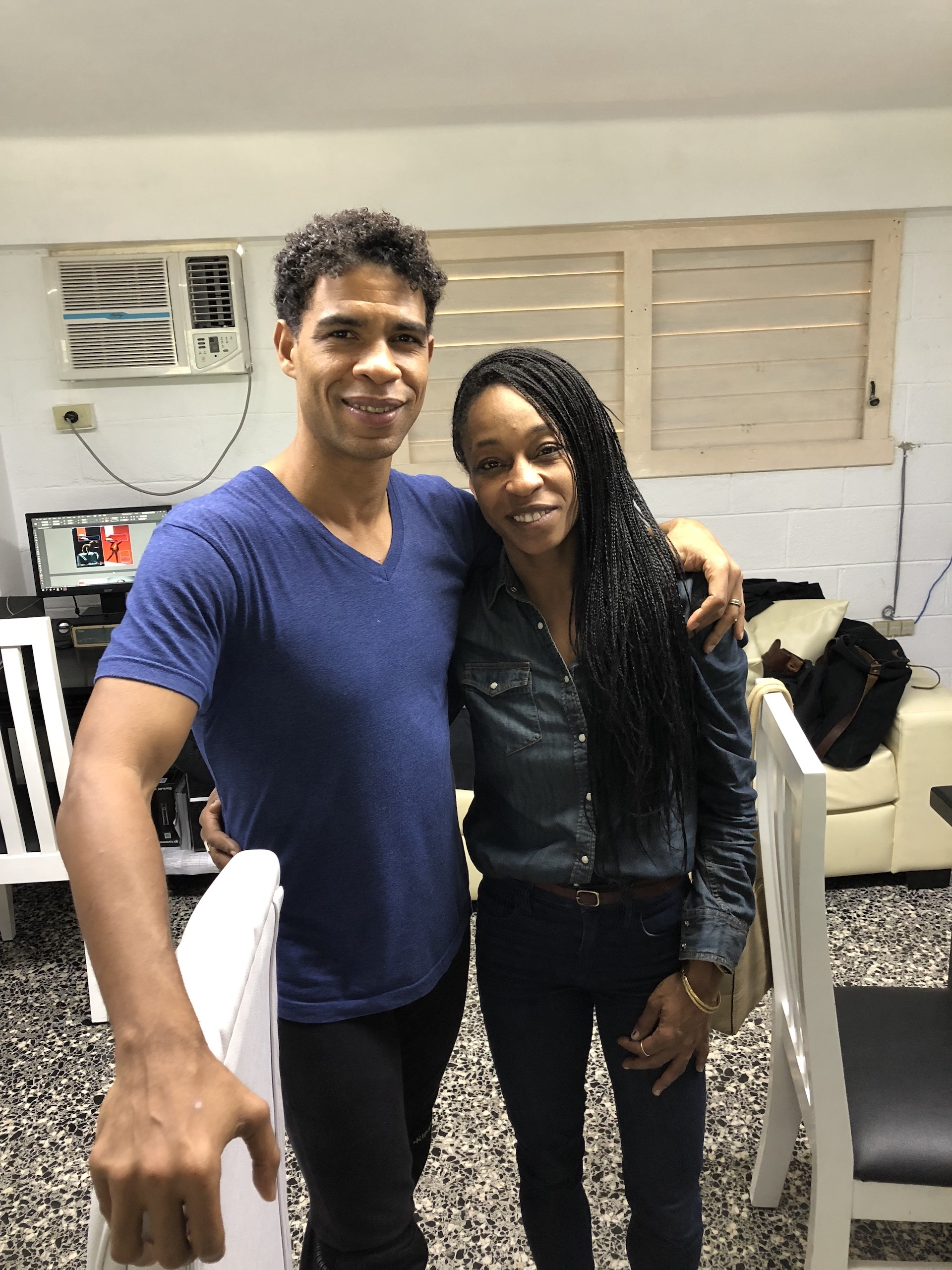 Carlos Acosta and Djassi DaCosta Johnson