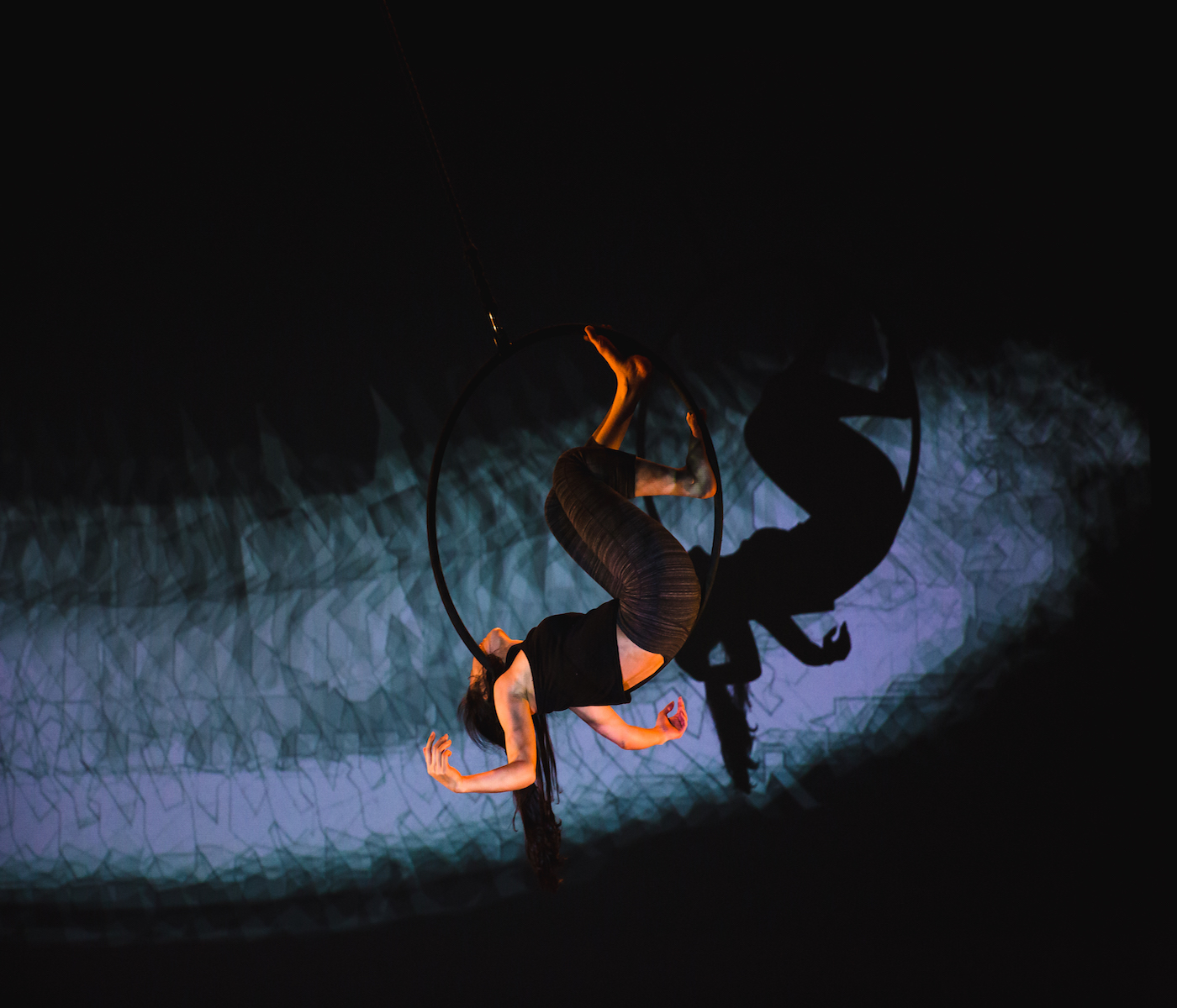 Aerial Dance And Interactive Technologies Soar