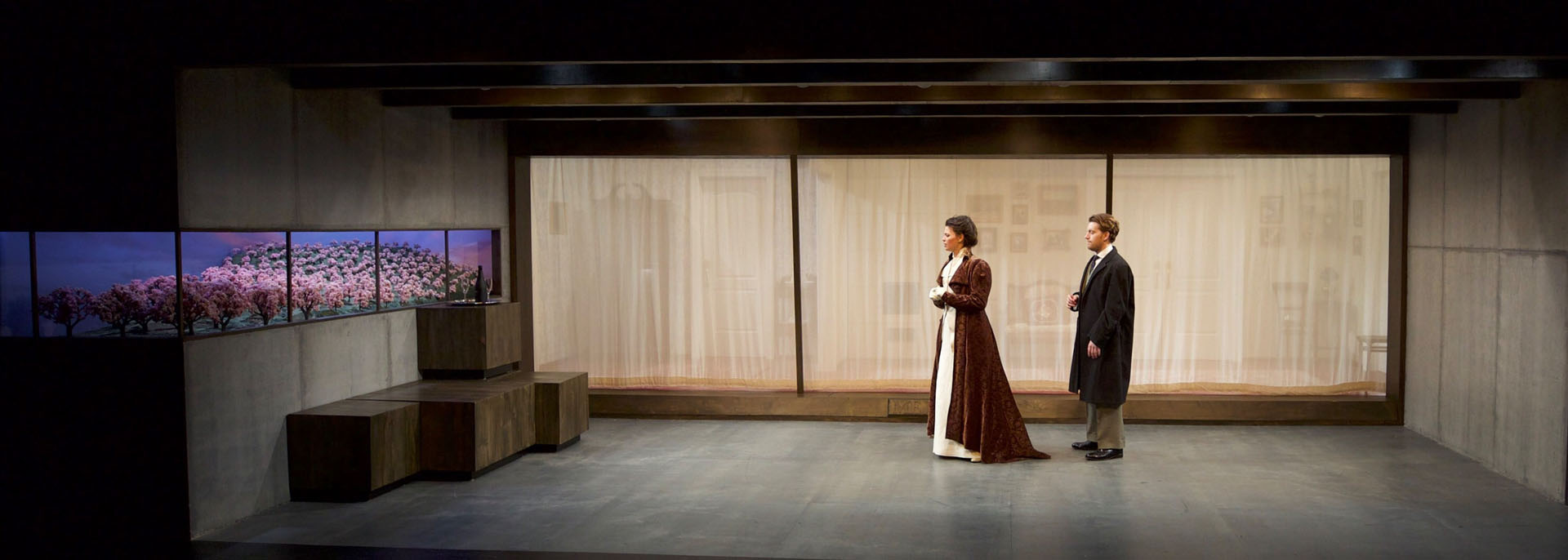 The cherry orchard for Tisch design for stage and film