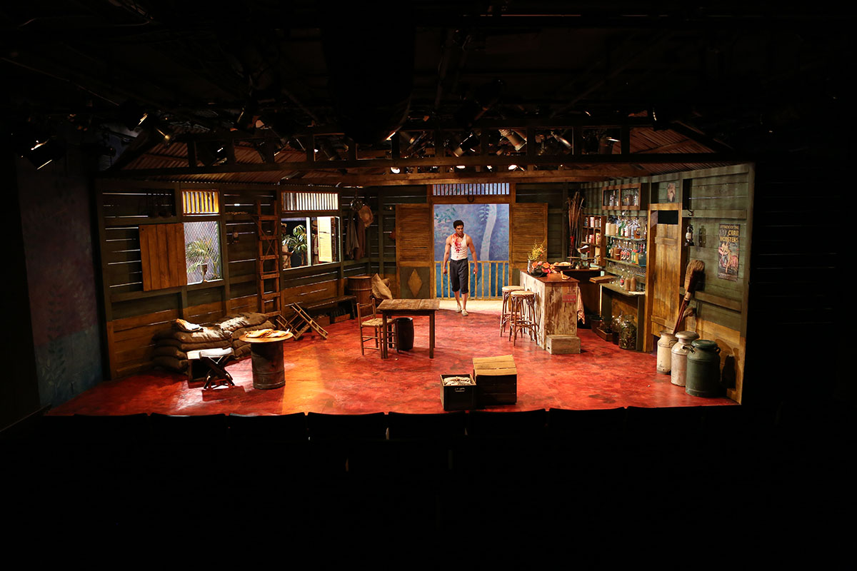 Playboy of the west indies for Tisch production design