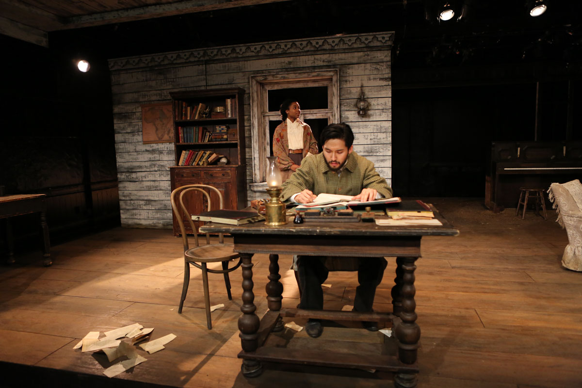 Uncle vanya for Tisch production design