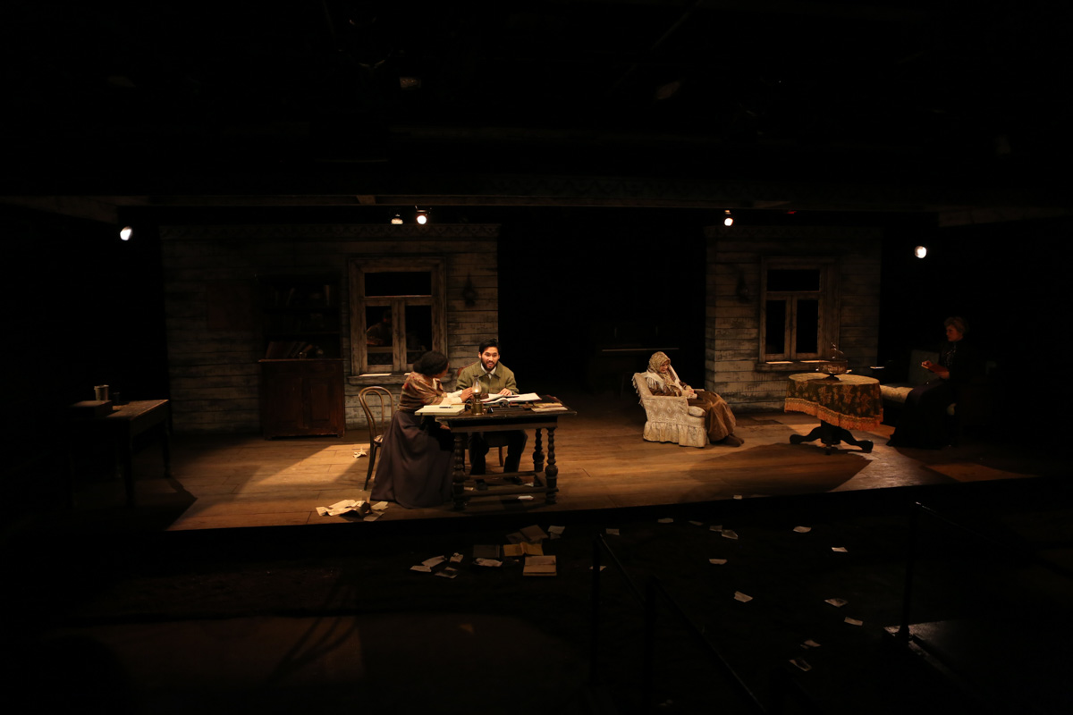 Uncle vanya for Nyu tisch design