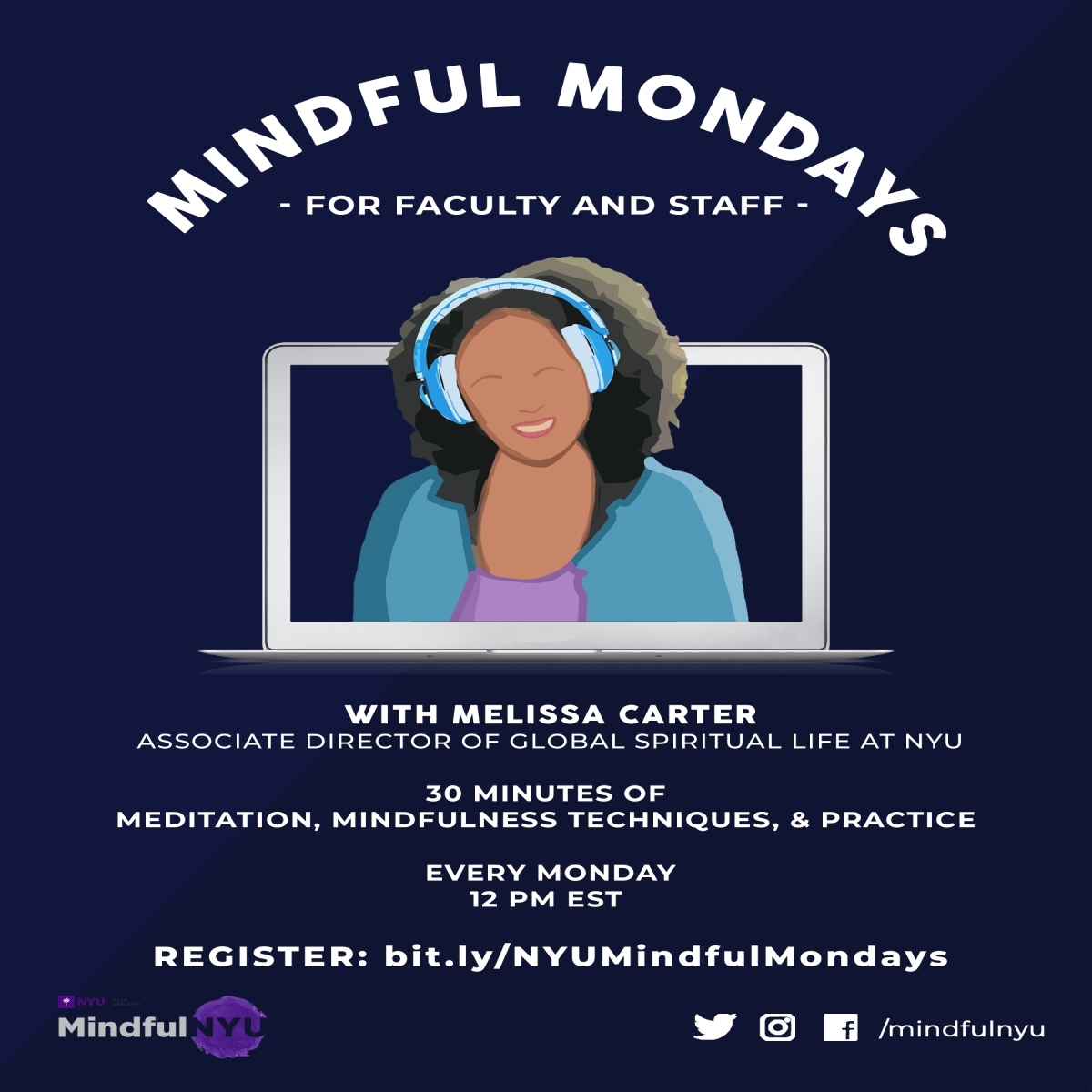 Mindful Mondays for Faculty and Staff