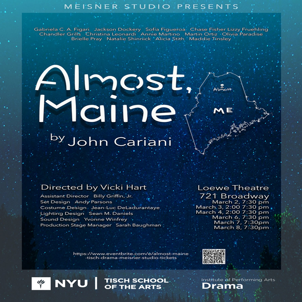 Almost Maine Poster