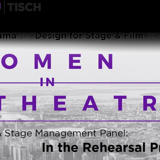 Women in Theater Banner