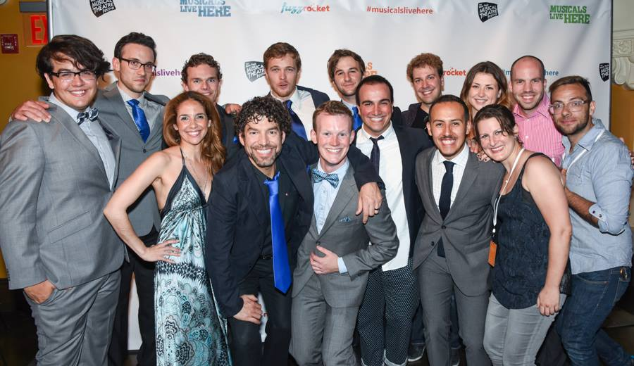 "Tisch Drama alumni at the Opening Ceremony of the 2015 New York Musical Theatre Festival. Their entry, ""The Cobalteans"" received three awards."