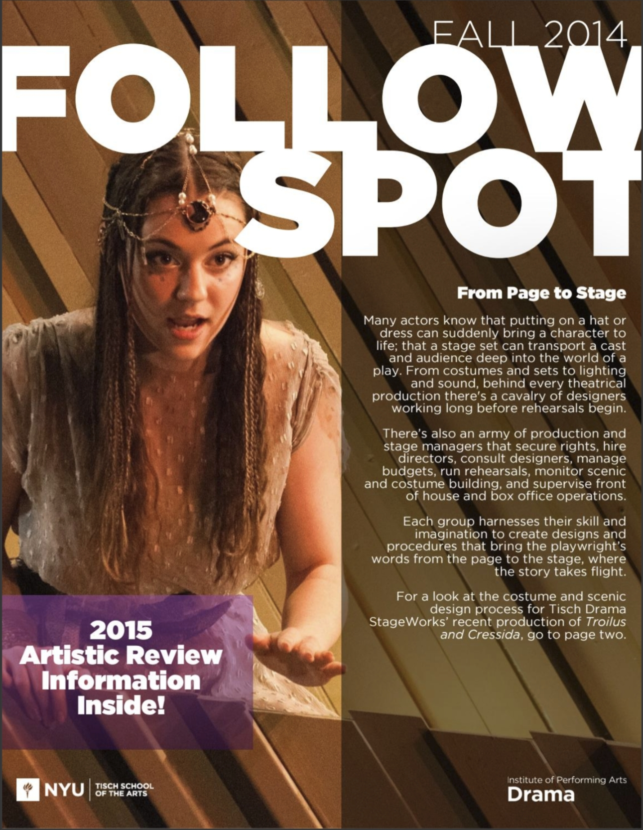 Cover of Followspot Newsletter