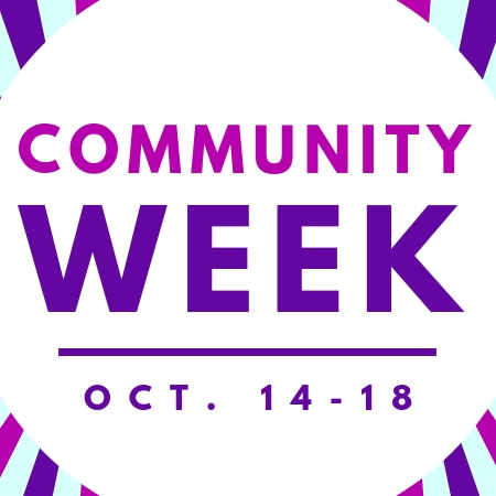 Community Week, October 14-18