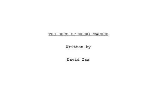 The Hero of Weeki Wachee Title Page
