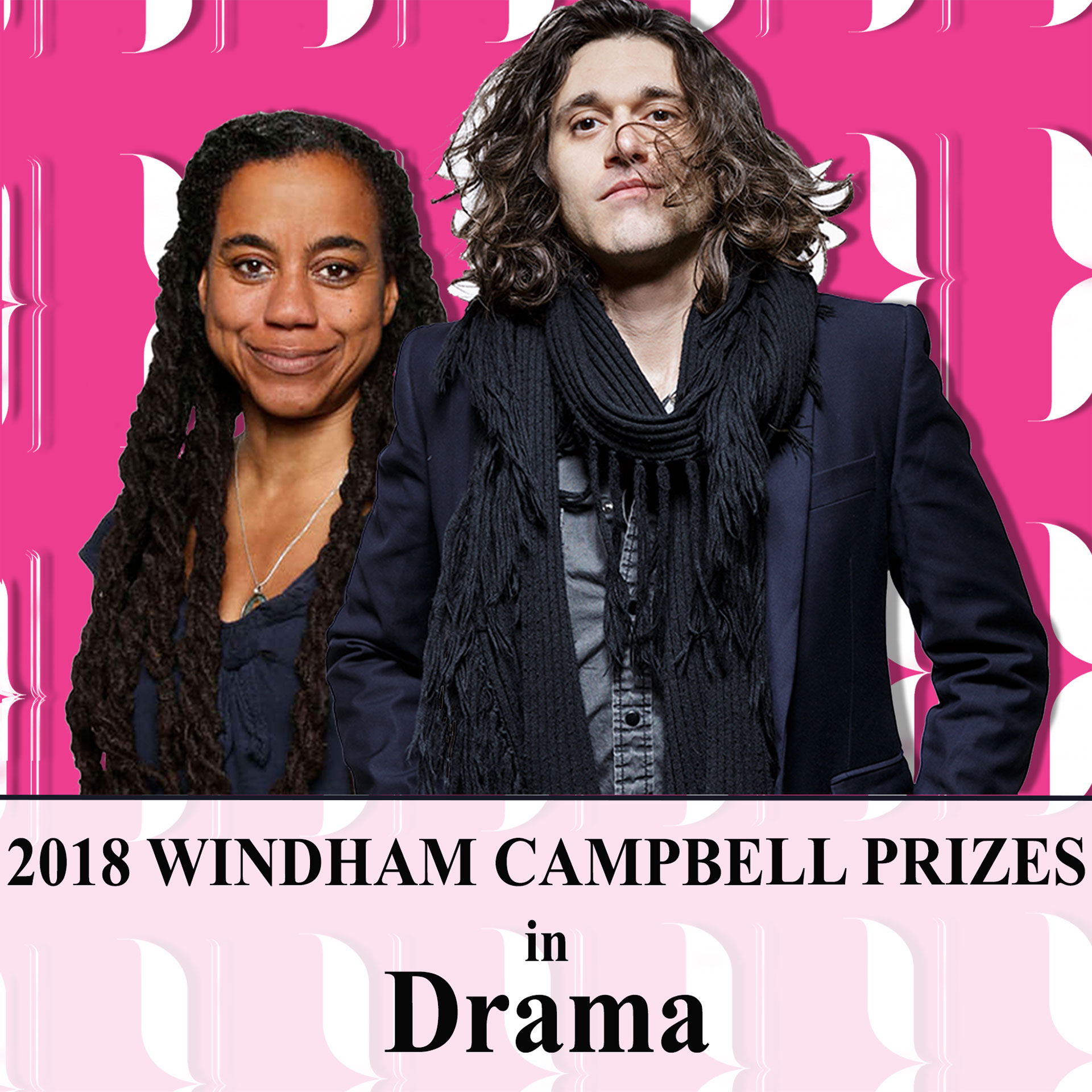 2018 Windham Campbell Prize Recipients Suzan-Lori Parks and Lucas Hnath