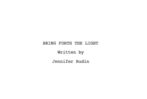 Bring Forth the Light Title Page