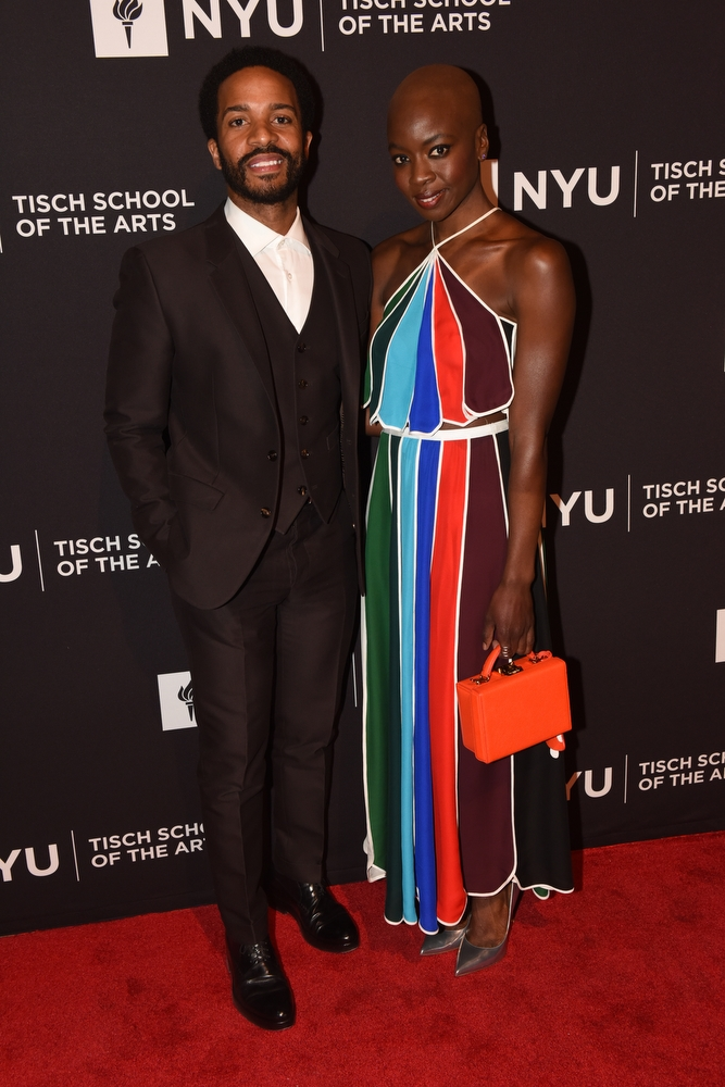Tisch Gala Honorees André Holland and Danai Gurira