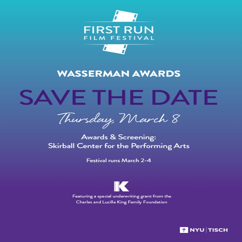 First Run Film Festival 2018, Awards and Screeing, March 8th