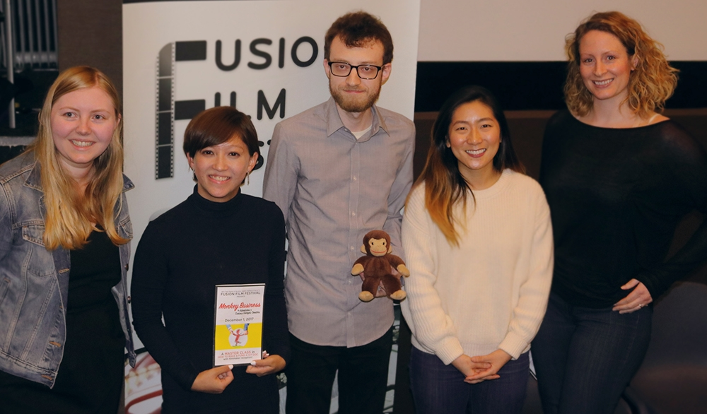 Alumni Team behind Monkey Business at The Fusion Film Festival
